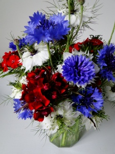 Cornflowers, Nigella and Sweet Williams