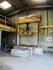 Cotehele's cider press
