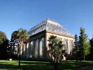 The glasshouse at the Royal Botanic Gardens Edinburgh
